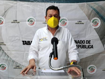 Campaña de vacunación contra Covid-19 avanza muy lento: Fócil Pérez