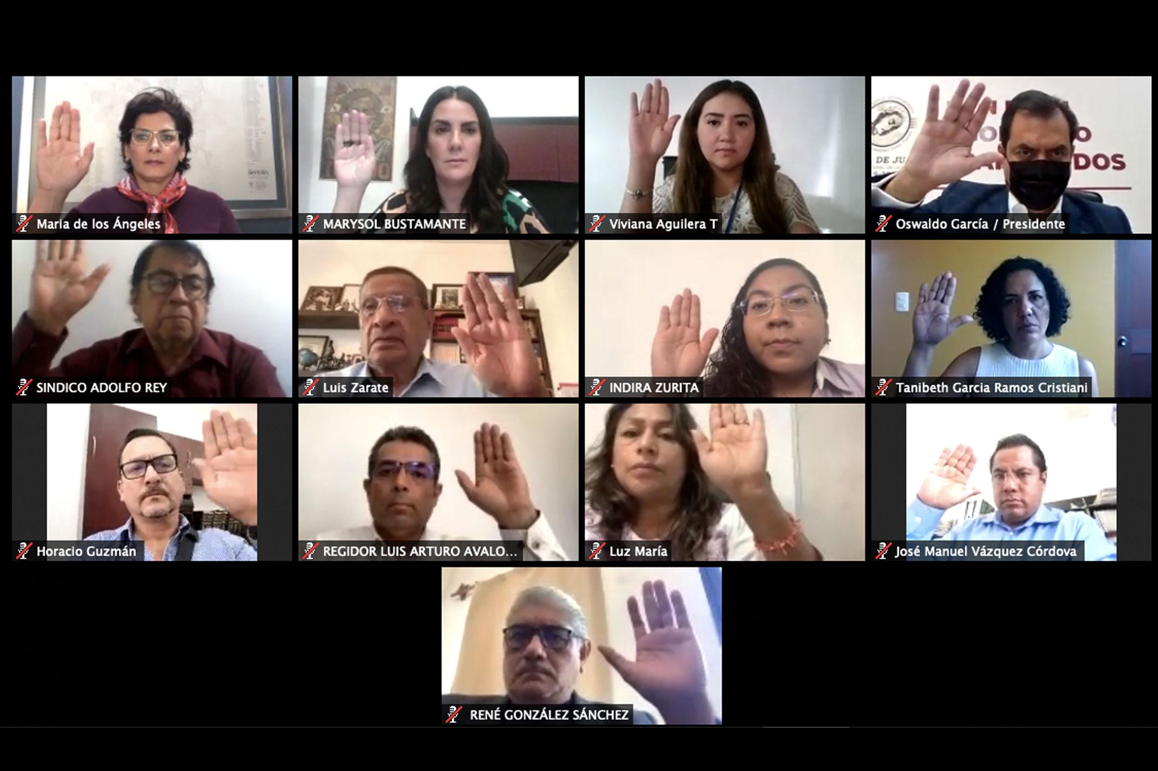 Durante proceso electoral, exhortan a funcionarios municipales de Oaxaca de Juárez a conducirse con rectitud