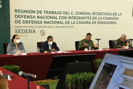 Reconoce Senado profesionalismo, compromiso y entrega del Ejército Mexicano