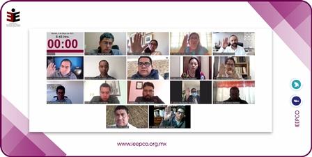 Arrancan campañas con el registro de 13 mil candidaturas a Concejalías: IEEPCO