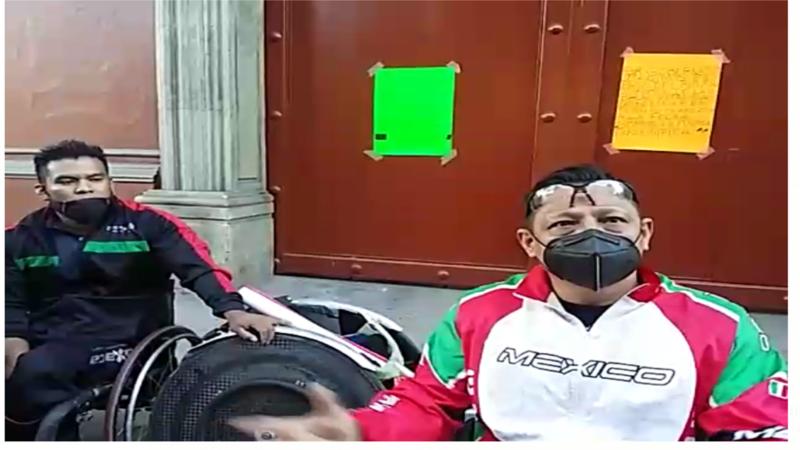HILDA PÉREZ LUIS CHAPULÍN DE LA POLÍTICA, JUNTO CON LOS DIPUTADOS INÉS LEAL PELÁEZ, ÁNGEL ESCOBAR Y FABRICIO EMIR TUMBARON LA LEY QUE FAVORECÍA ATLETAS MEDALLISTAS PARALÍMPICOS -VIDEO-