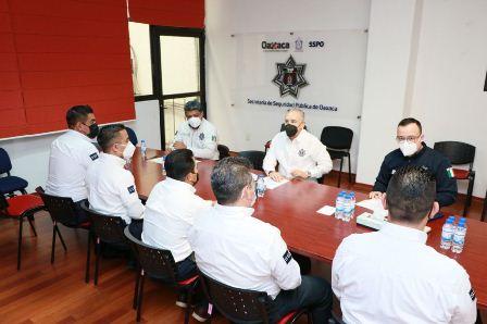 Realizan rotación de directores en seis Centros Penitenciarios del Estado de Oaxaca