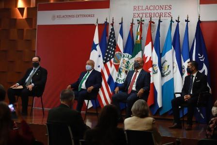Suscriben convenio SRE, INM, UNAM y CRM para combatir tráfico ilícito de migrantes y trata de personas