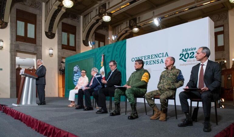 Conferencia de prensa matutina del presidente Andrés Manuel López Obrador. Martes 20 de julio 2021. Versión estenográfica.