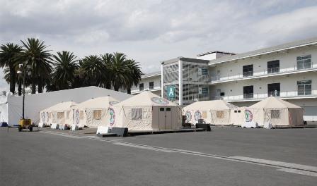 Amplía Hospital Temporal del IMSS en el Autódromo Hermanos Rodríguez servicios al 18 de agosto