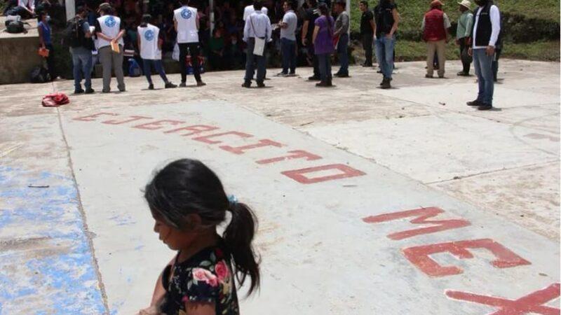 Pronunciamiento Conjunto. Sobre la situación de violencia generalizada en Pantelhó y la crisis de desplazamiento forzado interno