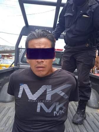 Presentan ante Juzgado a segundo probable responsable de robo con violencia en la Central de Abasto