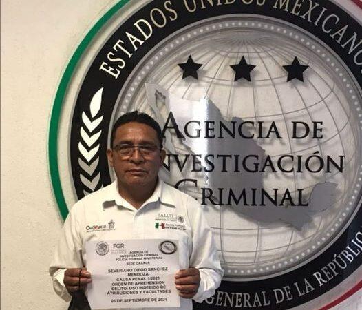 APRESA LA FGR A SEVERIANO DIEGO SÁNCHEZ MENDOZA, EX FUNCIONARIO DEL IMSS OAXACA, POR SUPUESTOS DELITOS DE CORRUPCIÓN COMETIDOS DESDE 2014