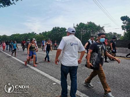 Urgen al Instituto Nacional de Migración garantizar derechos humanos de personas migrantes
