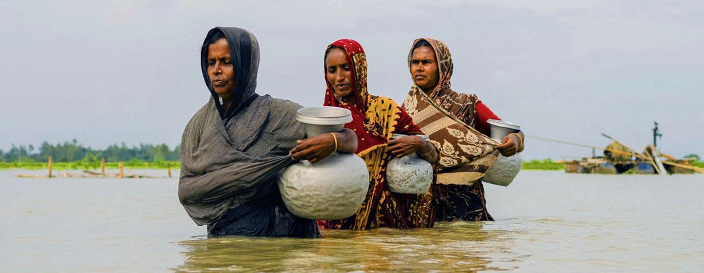 El cambio climático puede provocar 216 millones de desplazados en el año 2050