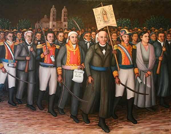 LA PRIMERA ACTA DE INDEPENDENCIA DE MÉXICO SE PUBLICÓ…  EN SAN ANTONIO TEXAS