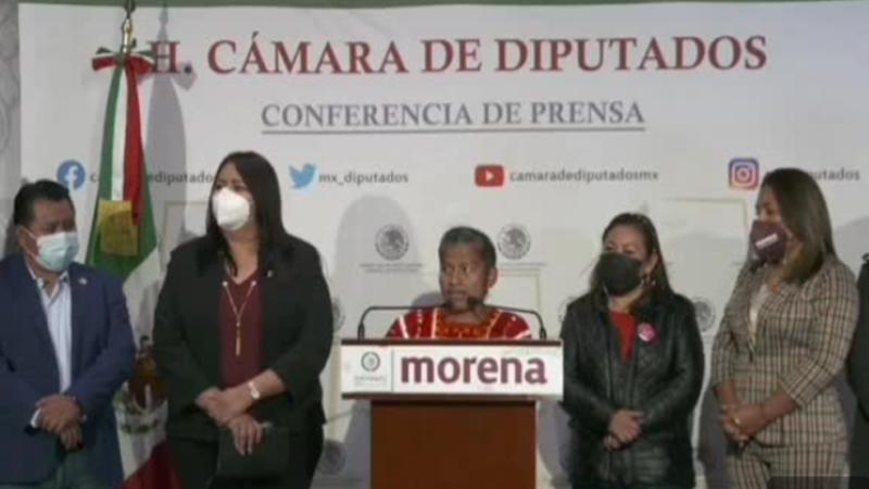 LA DIPUTADA FEDERAL DE MORENA IRMA JUAN CARLOS BUSCA LA CANDIDATURA AL GOBIERNO DE OAXACA