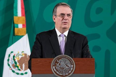 Reanudarán actividades regulares en la frontera norte de México en los primeros días de noviembre: Ebrard