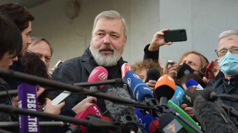 """Dmitry Muratov, galardonado con el Nobel, no se quedará con """"un solo céntimo"""" de su premio"""