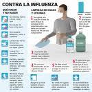 Realiza sector salud acciones para evitar rebrote de influenza AH1N1