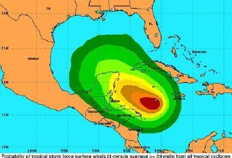 Pronostican fuertes lluvias en Campeche.
