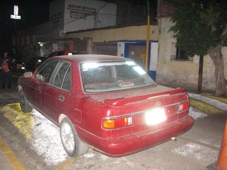 Recuperan vehículo robado en plaza comercial Oaxaca