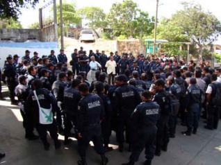 Salina Cruz policias