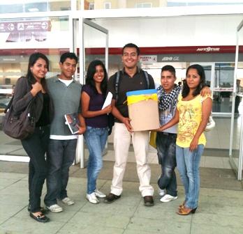 Gerardo Jesús Mendoza, viaja a los Estados Unidos becado