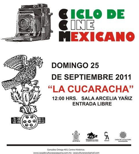 CINE MEXICANO dia 25 casa de la cultura