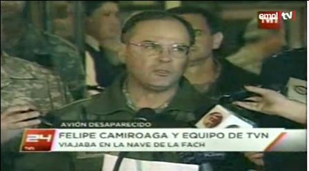 Chile informe de accidente