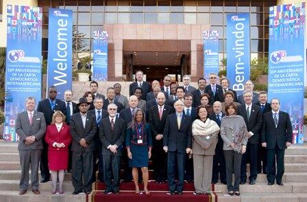 SRE reunión de cancilleres OEA