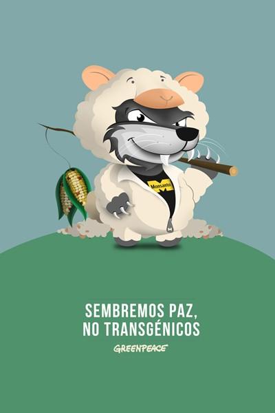 Greenpeace Lobo con piel de oveja