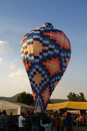 Concurso de globos y faroles
