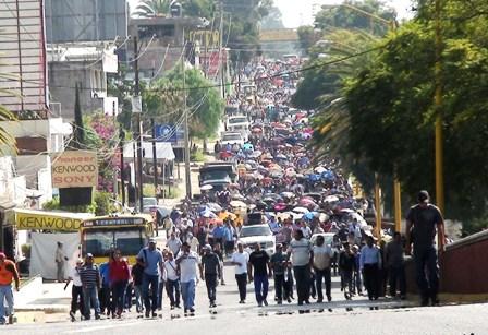 Sección 22 marcha 15 de noviembre 2006