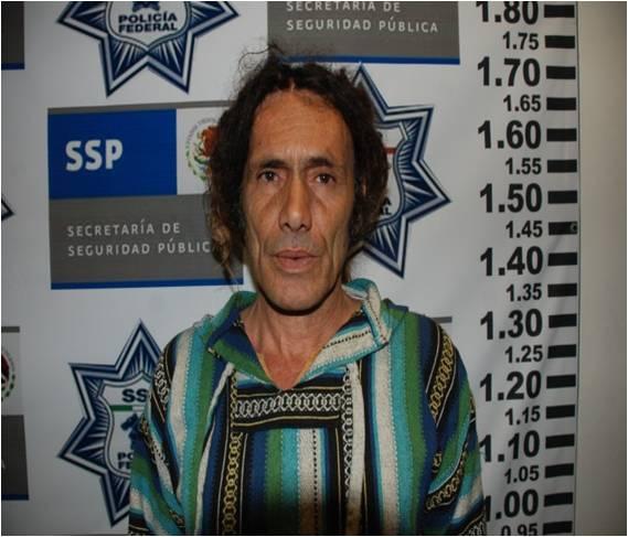 Charonitis Zacharias, griego detenido por la PF con más de medio quilo de cocaína