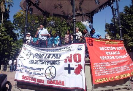 Asesinan a ex dirigente de la Sección 22 del SNTE en Oaxaca