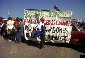 La paciencia se agotó, advierten al gobierno zoques de los chimalapas