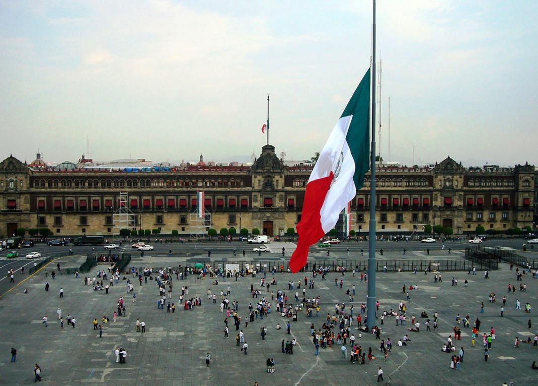 México zócalo