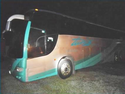 PF Autobus con marihuana