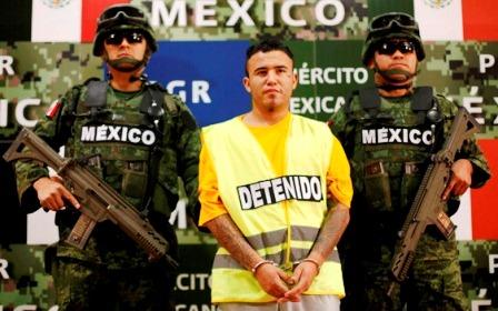 """Daniel de Jesús Elizondo Ramírez, alias """"el Loco"""", líder de Los Zetas en Cadereyta, Nuevo León."""