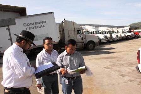 Verifican resguardo vehicular