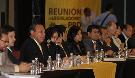 Reunión JZG-Legisladores PRD 16 julio 2012