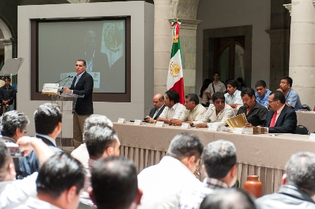 Consejo de Desarrollo Micro Regional Firma de Convenios