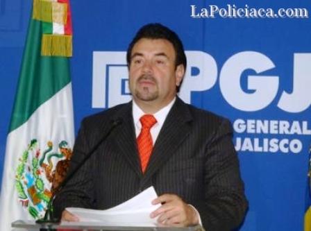 Procurador General de Justicia de Jalisco,Tomás Coronado Olmos