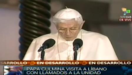 Papa Libano 2