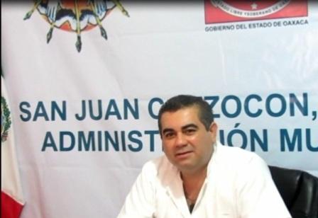 Admiistrador Municipal de San Juan Cotzocón