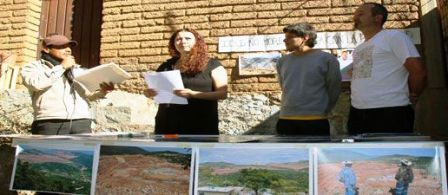 Oaxaca Calpulampan  Contra la mineria