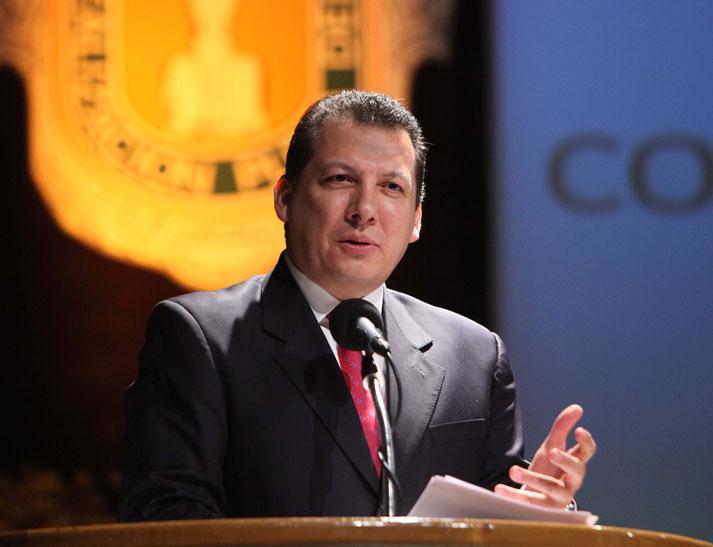 Foto  Archivo: Presidente de la ComisiónNacional de Derechos Humanos, Raúl Plascencia Villanueva