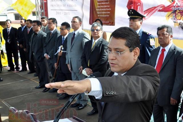 José Julio Antonio Aquino, presidente de Santa Cruz Xoxocotlán