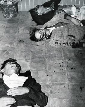Masacrados durante el mitin celebrado en Tlatelolco el 2 de octubre de 1968