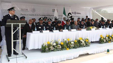 Inicia Comisión Nacional de Seguridad proceso de regionalización de la Policía Federal