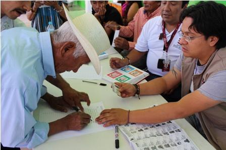 Triunfa planilla roja en elección extraordinaria de San Sebastián Teitipac, Oaxaca