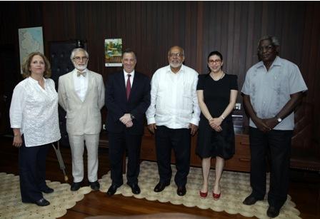 Presidente de Guyana-Canciller de México