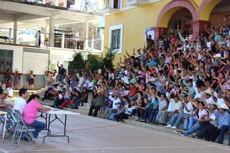 Eleccies en Santiago Choapam