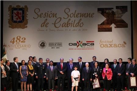 Sesión Solemne de Cabildo